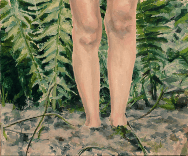 Image of Ferns painting by Ruta Matuleviciute