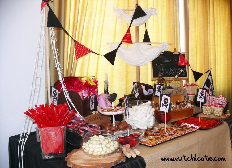 Mesa dulce piratas