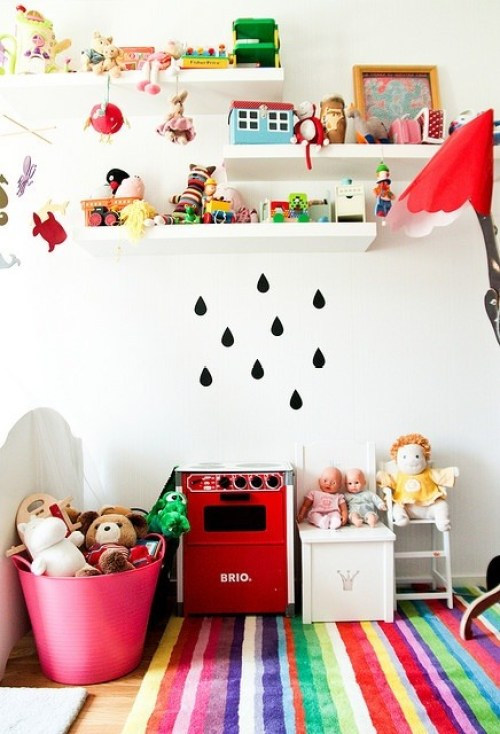 Paredes de cuartos infantiles 6