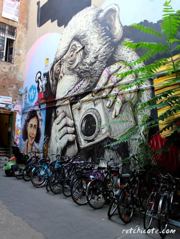 Graffitis-Berlín