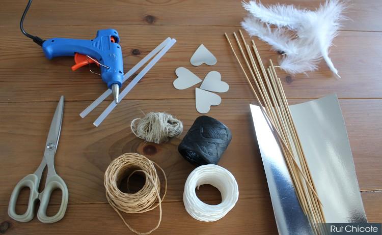 Materiales-flechas-de-san-valentin