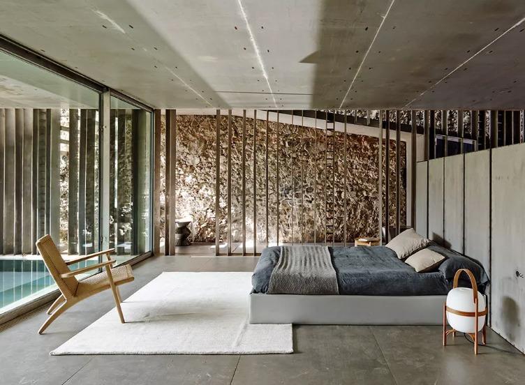 Interiores del estudio RCR