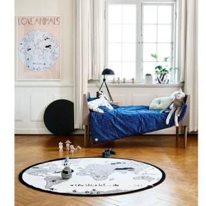 alfombras para el dormitorio infantil