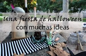 Una fiesta de halloween infantil con muchas ideas
