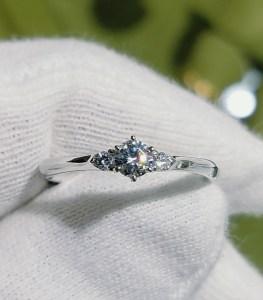 婚約指輪 エンゲージリング(サイドメレタイプ)