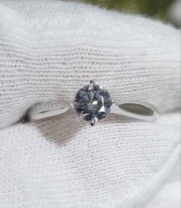 婚約指輪 甲丸タイプⅡ
