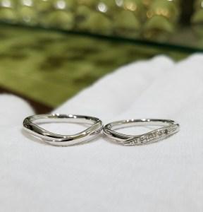 結婚指輪 マリッジリング(ウェーブタイプⅢ)