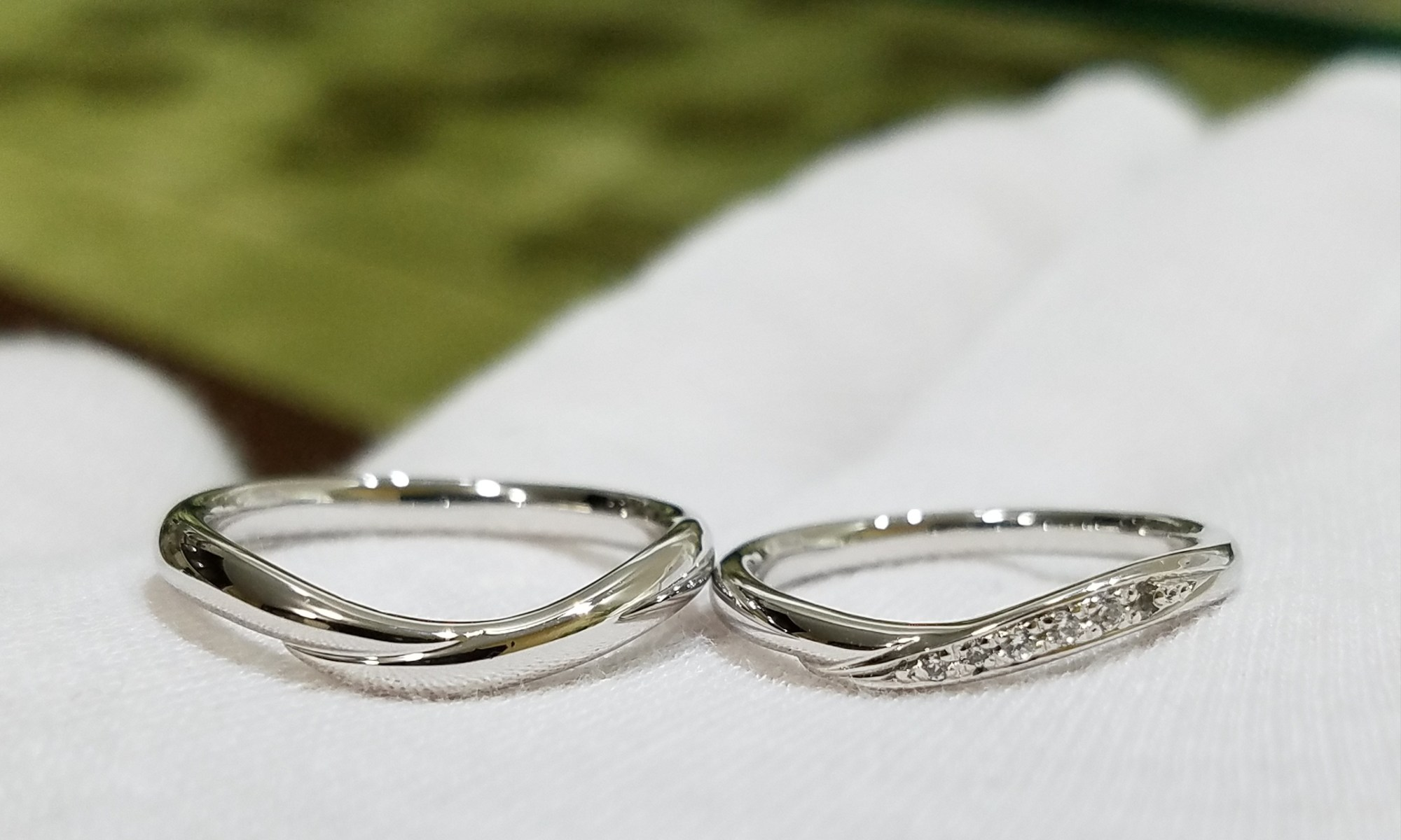 結婚指輪 ウェーブⅢ