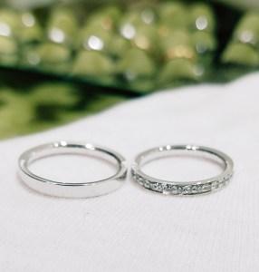 結婚指輪 平打ちタイプ