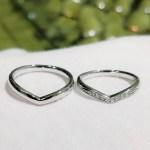 結婚指輪 マリッジリング Vライン(タイプⅢ)
