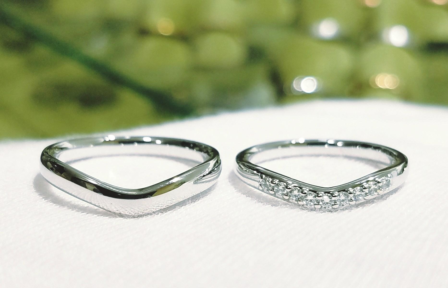 結婚指輪 マリッジリング(Vラインタイプ)