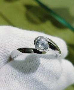 婚約指輪 エンゲージリング(包み込みタイプⅢ)