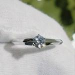 婚約指輪 エンゲージリング(ソリテールタイプ)