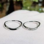 結婚指輪 マリッジリング(ウェーブタイプⅡ)