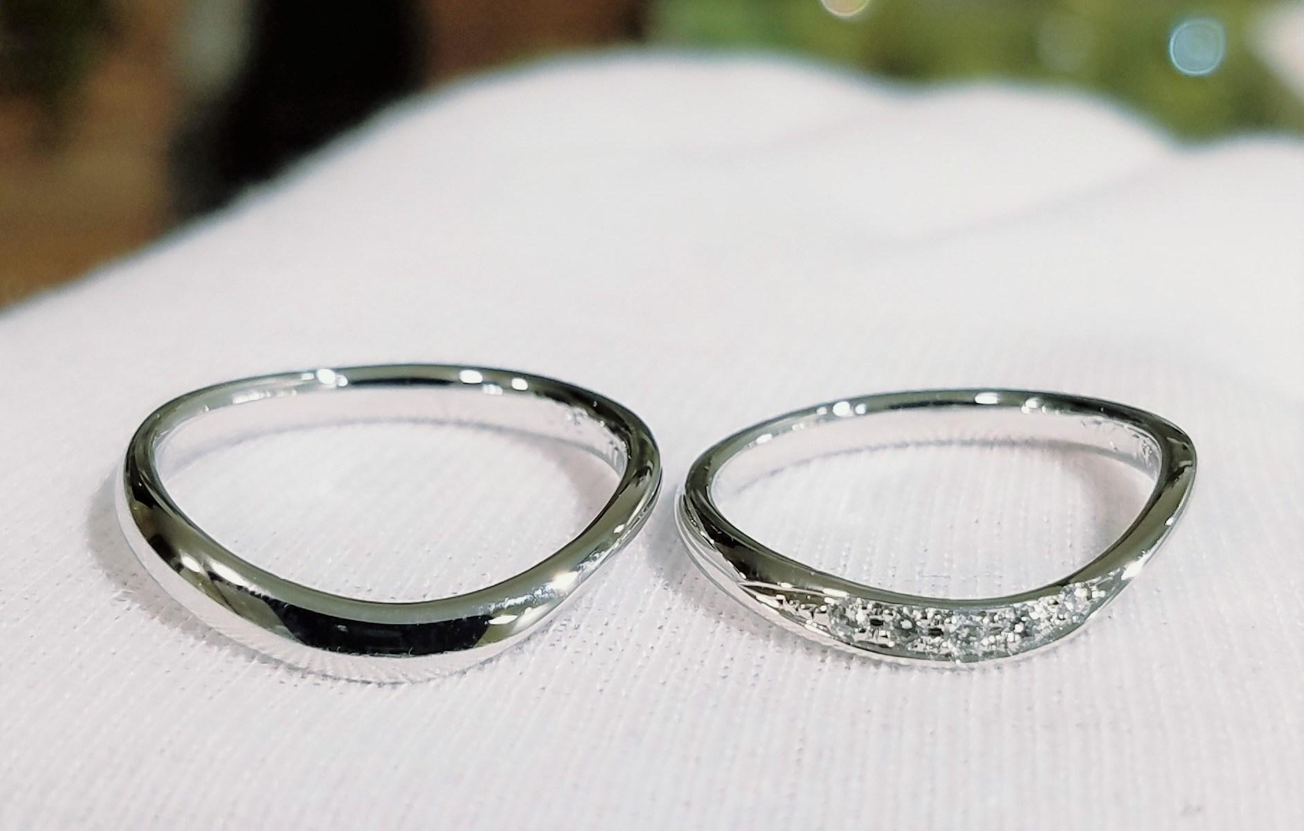 結婚指輪 ウェーブタイプⅡ