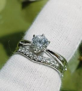 結婚指輪 婚約指輪 セットリング(パターンⅡ)