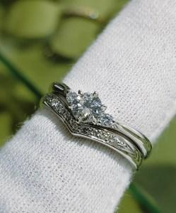 結婚指輪 婚約指輪 セットリング(パターンⅥ)