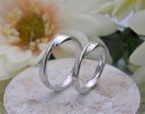 結婚指輪 ツイストリング