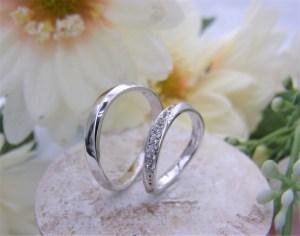 結婚指輪 ひねりリング