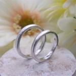 結婚指輪 テクスチャーリング5