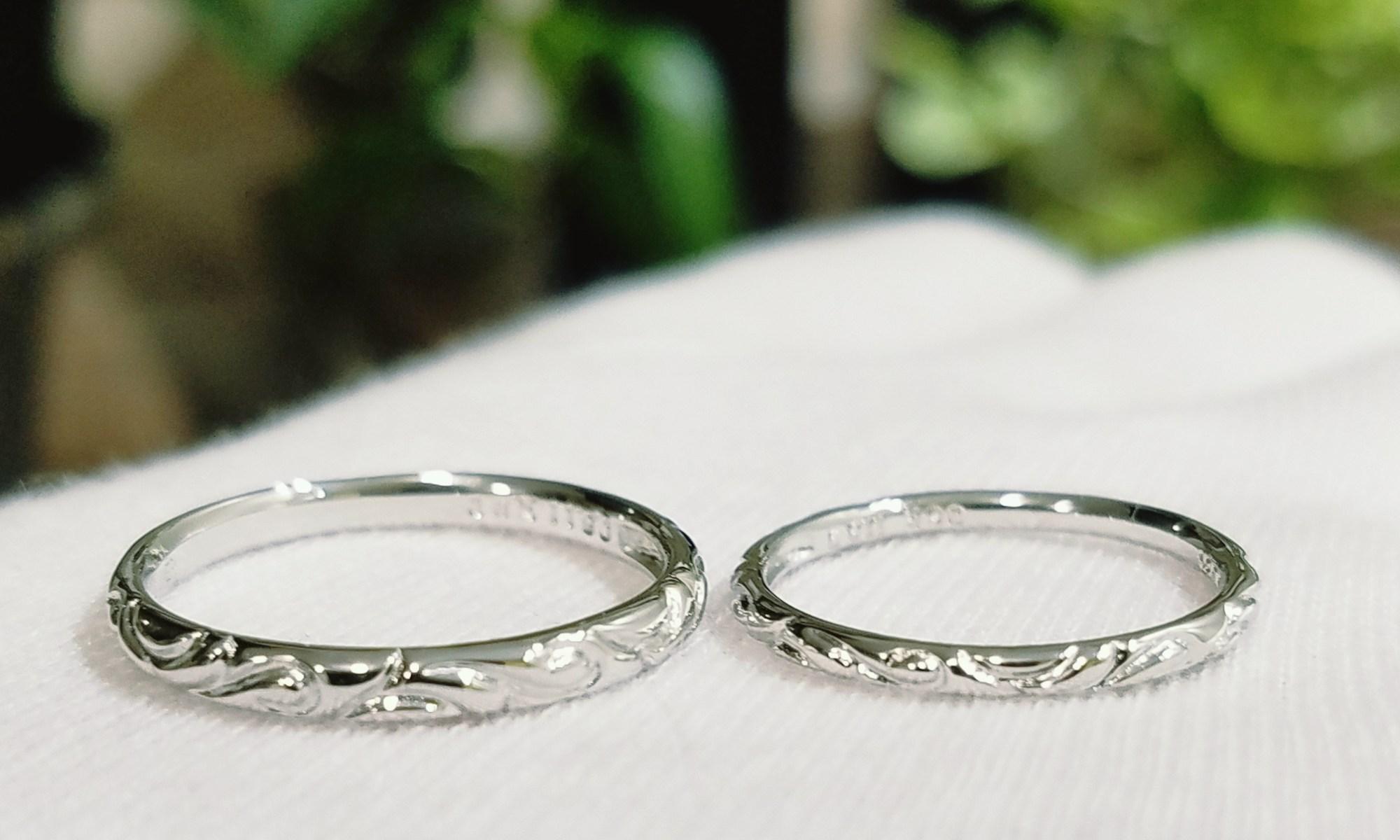 結婚指輪 細身リング (タイプⅠ)