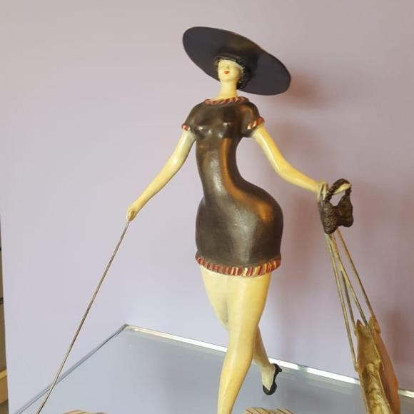Parisienne III - Ruth Gallery Luxembourg - Françoise Abraham