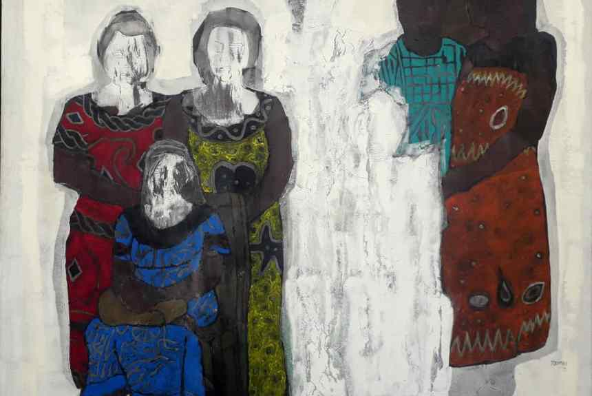 Coépouses - Emile Youmbi - Ruth Gallery Luxembourg