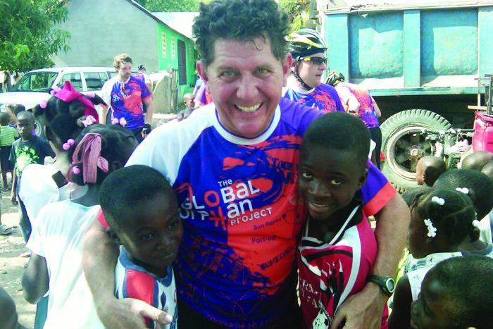 Mike Fox on Tour d'Haiti