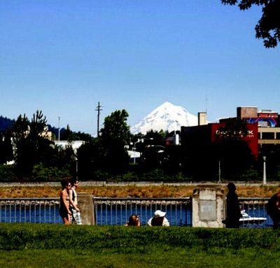 Mount Hood von Portland