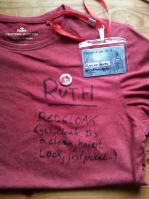 Fantasycon 2014 - The Redshirt