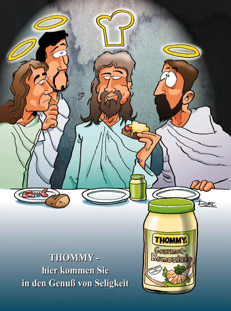 MAD, Thomy Mayonnaise & Jesus