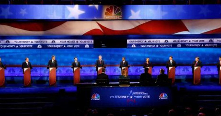 Presidential Debate on CNBC