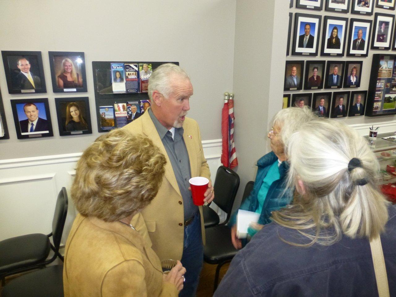 Joe Carr at the GOP