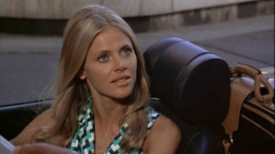 Britt Ekland starred as the main Bond girl in The Man with the Golden Gun