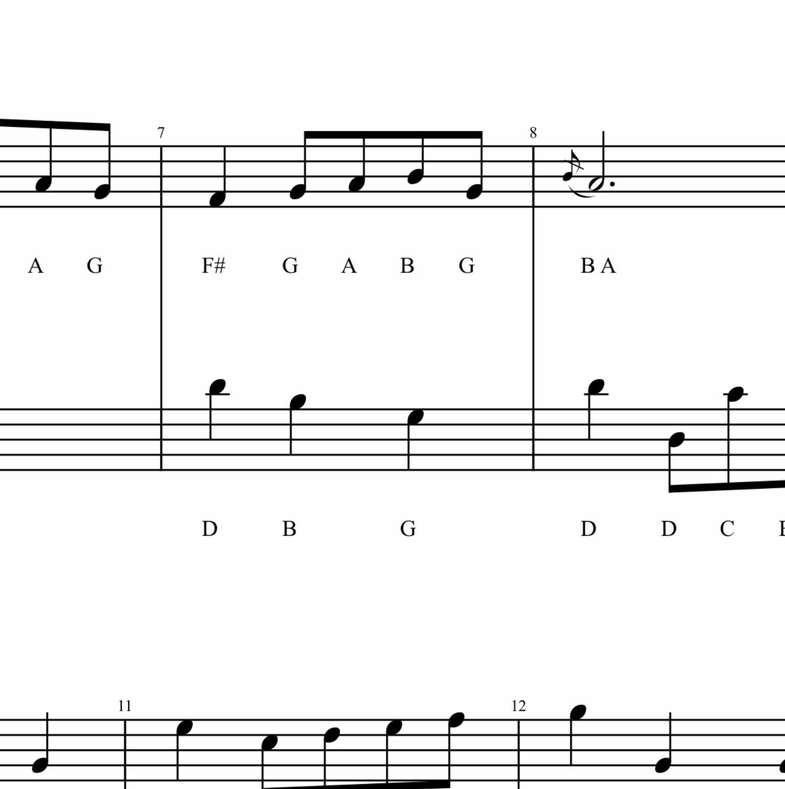 Bach Minuet In G From Little Notebook For Anna Magdalena