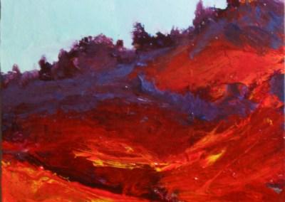 Crimson Landscape