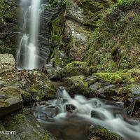 La Cascada de Cantejeira desde Trabadelo