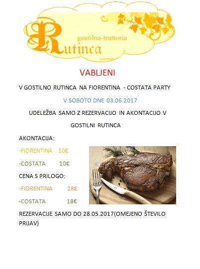 Fiorentina-Costata Party