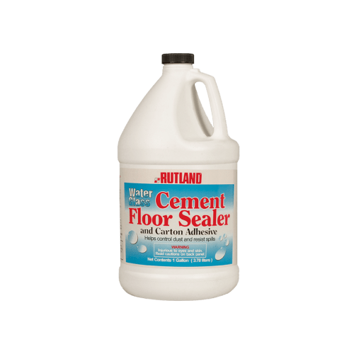 146 RUTLAND Water Glass Cement Floor Sealer