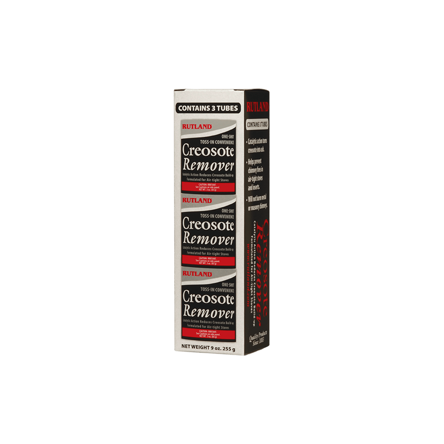 RUTLAND Creosote Remover Toss-In 3-Pack