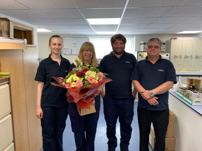 Sue Retires from rutpen