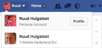 Facebook toggle