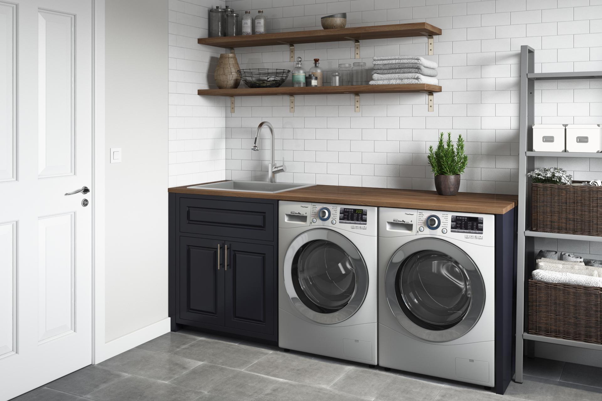 topmount laundry 22 x 22 x 12 deep