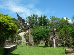 laos parco del budda