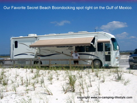 dry camping boondocking