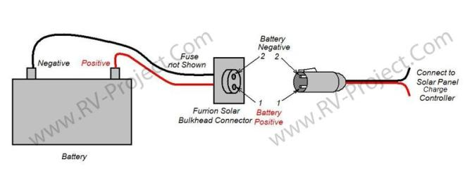 solar charge controller power jack wiring  circuit diagram