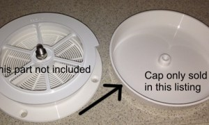 Replacement Cap for RV Mushroom Vent 17480AW-1
