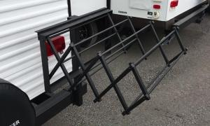 RV EZ Bumper Drying Rack Super Easy to Assemble and disassemble