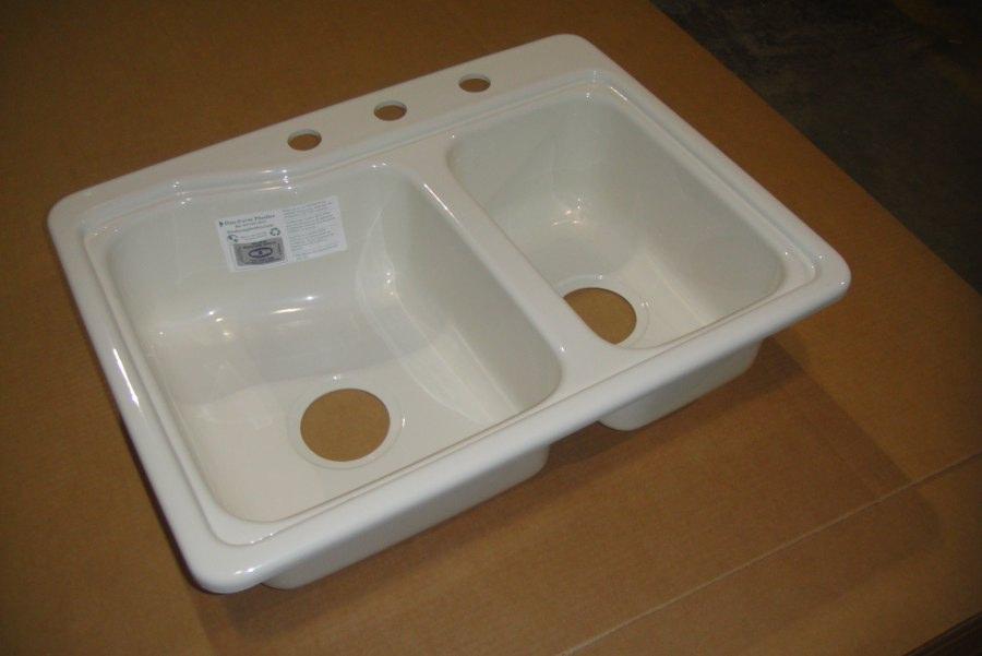 53251990 25 x 19 double bowl sink