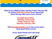 Discounts to Arena Racing USA at Richmond Coliseum